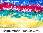 multicolored abstract texture... | Shutterstock . vector #1066857398