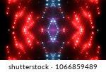 red glitter lights background ... | Shutterstock . vector #1066859489