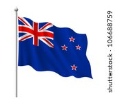 flag of new zealand  vector... | Shutterstock .eps vector #106688759