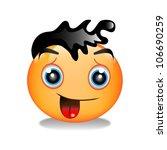 smiley  a face | Shutterstock . vector #106690259