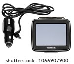 tomtom gps car navigation with... | Shutterstock . vector #1066907900