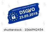 general data protection... | Shutterstock .eps vector #1066942454
