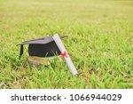 graduation concept. graduated... | Shutterstock . vector #1066944029