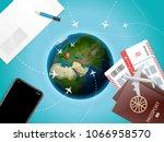 adventure time vector... | Shutterstock .eps vector #1066958570