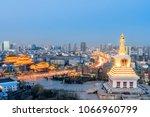baohan khan temple  guanyin... | Shutterstock . vector #1066960799