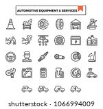 automotive equipment and... | Shutterstock .eps vector #1066994009