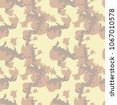 seamless fashion dusty beige...   Shutterstock .eps vector #1067010578