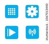 menu  gear  play and wireless
