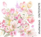 Elegant Watercolor Flowers