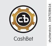 cashbet vector pictogram symbol ...   Shutterstock .eps vector #1067038616