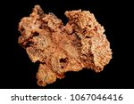 copper metal mineral isolated... | Shutterstock . vector #1067046416