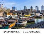 rotterdam  the netherlands  ... | Shutterstock . vector #1067050208