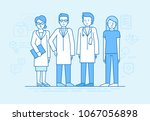 vector illustration in flat... | Shutterstock .eps vector #1067056898