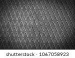 grey colored rhombus metal... | Shutterstock . vector #1067058923