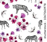 Exotic Animals And Flowers ...