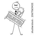 cartoon stick man drawing...   Shutterstock .eps vector #1067065433