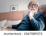 thoughtful mood. pleasant good... | Shutterstock . vector #1067089373