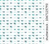 seamless pattern of hand made...   Shutterstock . vector #1067125793