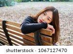 beautiful young brunette woman... | Shutterstock . vector #1067127470