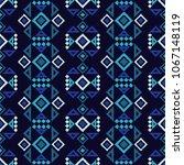 ethnic boho seamless pattern.... | Shutterstock .eps vector #1067148119
