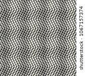 abstract monochrome broken... | Shutterstock .eps vector #1067157374