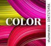 abstract vector background.... | Shutterstock .eps vector #1067171456