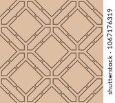 beige and brown geometric... | Shutterstock .eps vector #1067176319