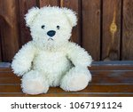 toy  white bear  white | Shutterstock . vector #1067191124