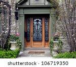 front door of family home | Shutterstock . vector #106719350