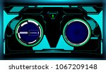 hud futuristic elements... | Shutterstock .eps vector #1067209148