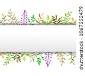 spring background illustrator  | Shutterstock . vector #1067232479