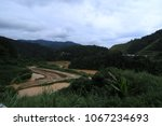 Landscape View Of A River With...