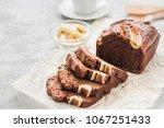 Dark Chocolate Banana Bread On...