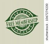 green free membership distgreen ... | Shutterstock .eps vector #1067274230