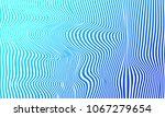 illusion pattern. stripes blue... | Shutterstock .eps vector #1067279654