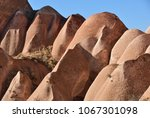 cappadocia landscape in red... | Shutterstock . vector #1067301098