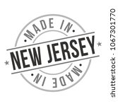 made in new jersey quality...   Shutterstock .eps vector #1067301770