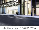the road next to the office | Shutterstock . vector #1067310956