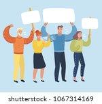 vector cartoon illustation of... | Shutterstock .eps vector #1067314169