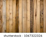 old weathered wood surface with ... | Shutterstock . vector #1067322326