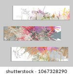 abstract cover template with... | Shutterstock .eps vector #1067328290