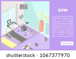 vector isometric low poly... | Shutterstock .eps vector #1067377970
