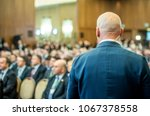security guard standing in the... | Shutterstock . vector #1067378558