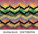 colorful sweater texture design | Shutterstock . vector #1067386946