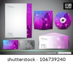 professional corporate identity ... | Shutterstock .eps vector #106739240