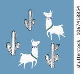 cactus in a pot    Shutterstock .eps vector #1067418854