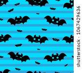 abstract seamless halloween... | Shutterstock .eps vector #1067429636