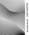 white black color. linear... | Shutterstock .eps vector #1067430704