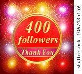 bright followers background.... | Shutterstock . vector #1067435159