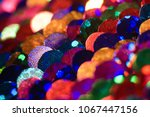 close up of pattern made of...   Shutterstock . vector #1067447156